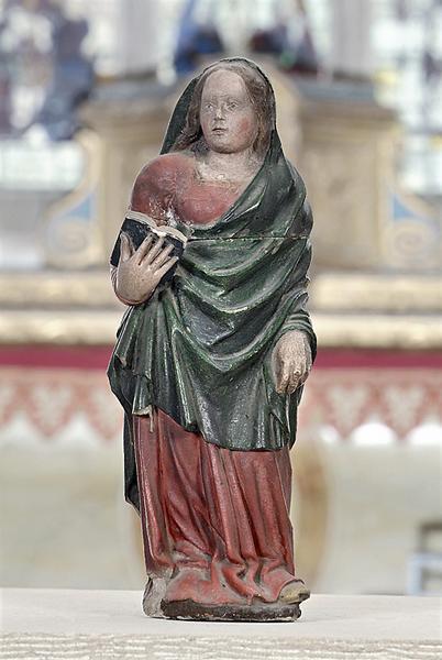 statue : Vierge de l'Annonciation (?)