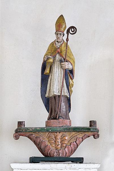 Bâton de procession : Saint Rémi