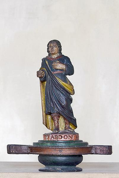 Bâton de procession : Saint Abdon