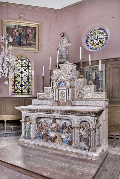 Maître-autel et tabernacle