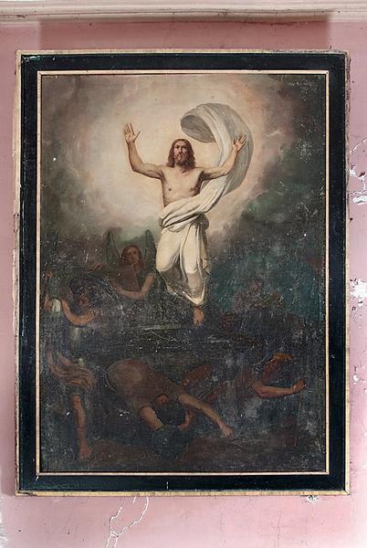 Tableaux en pendant : Résurrection du Christ et Ascension