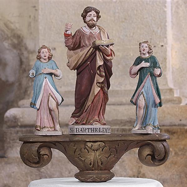 bâton de procession : saint Barthélemy