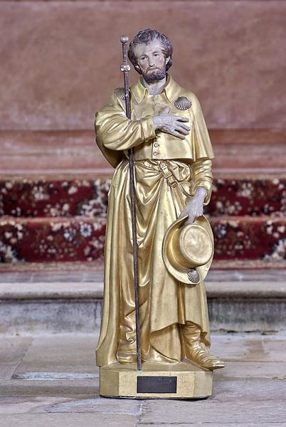 Statue : saint Jacques le Majeur