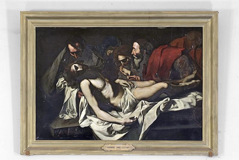 Tableau : Mise au tombeau (Le Christ mort)