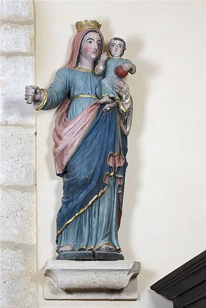 statue : Vierge à l'Enfant n° 2