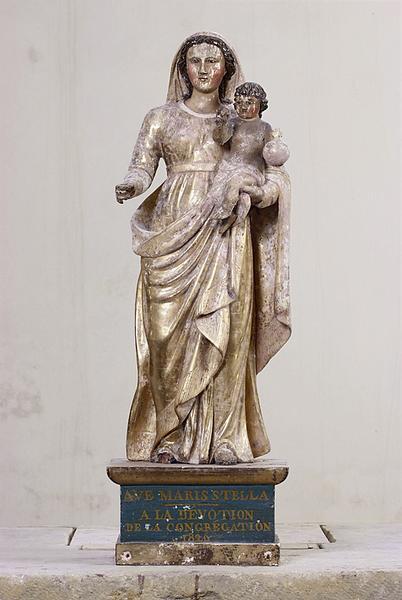 Statue : Vierge à l'Enfant n° 3