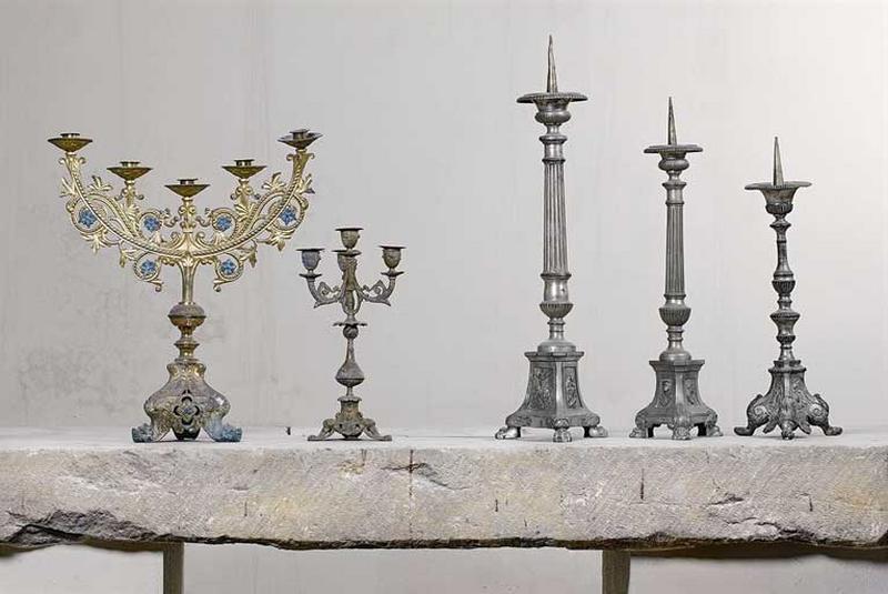 chandeliers d'église et chandeliers d'autel