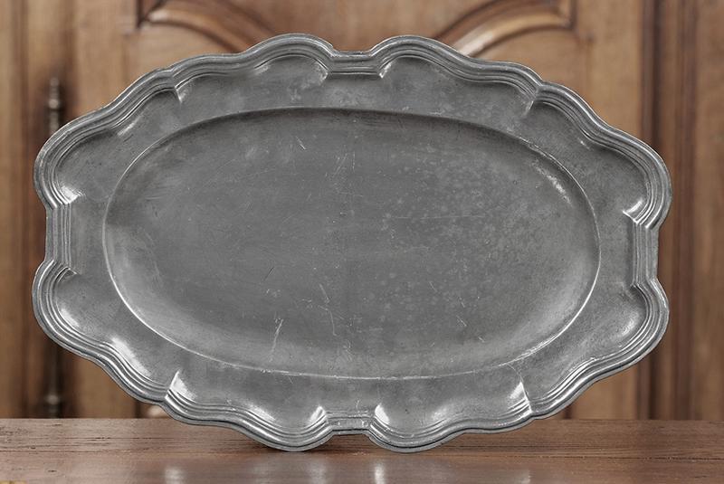 Paire de plats à contours (n° d'inventaire 265 et 266)
