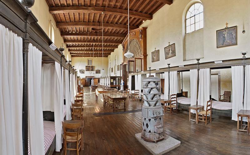 Hôtel-Dieu, actuellement musée