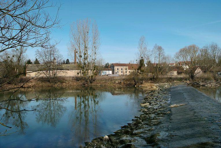 barrages du moulin (la Seille canalisée)