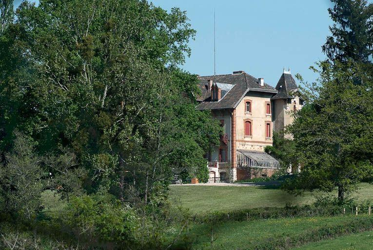 château de Saint-Romain ; ferme de Saint-Romain ; domaine de Saint-Romain (paysages et activités liés à la Seille canalisée)