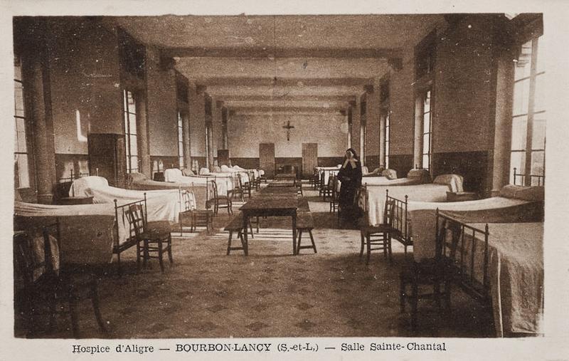 Hôpital d'Aligre, actuellement centre hospitalier