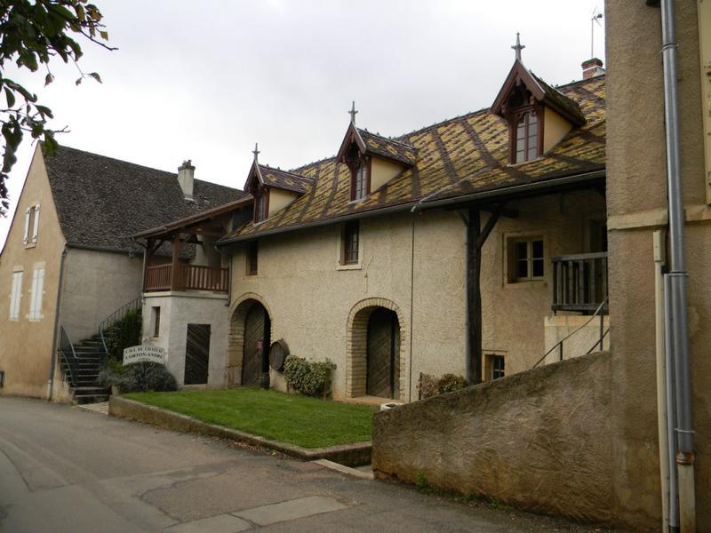 établissement vinicole dit château de Corton André