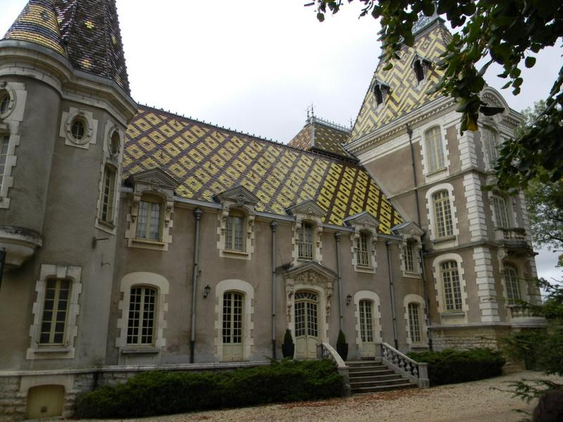 Maison de vigneron ; château de Corton André