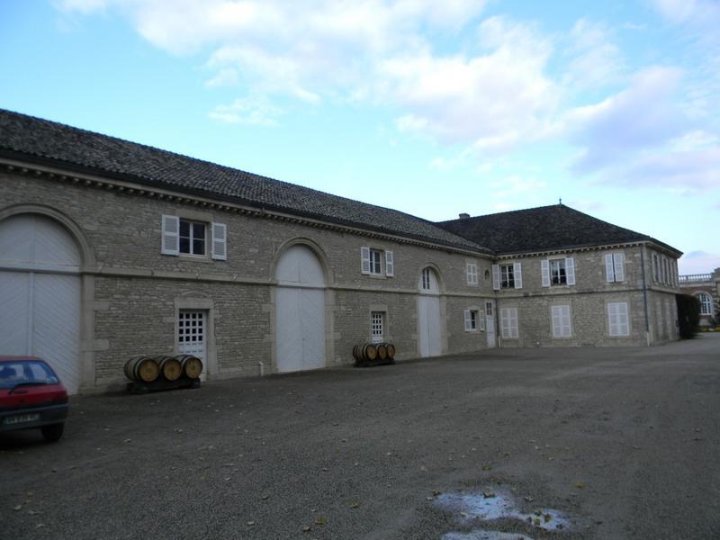 cuverie ; château de Meursault