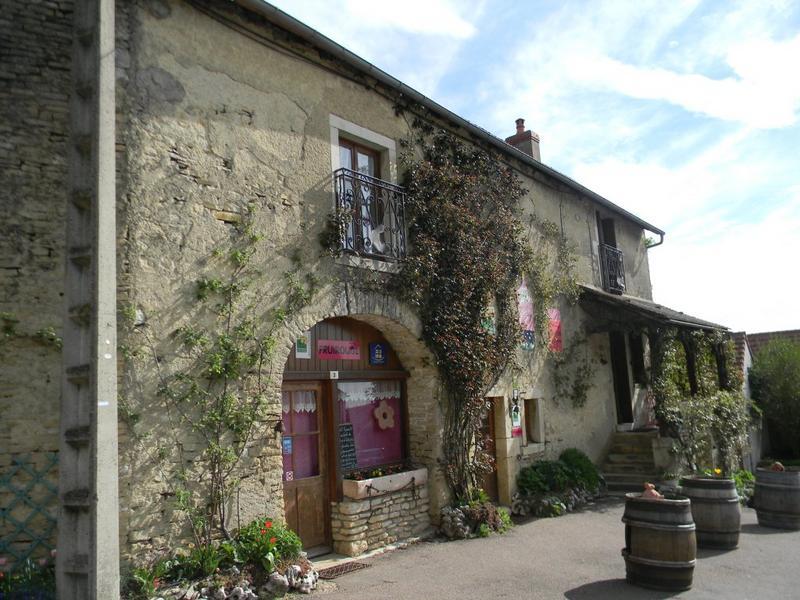 maison de vigneron ; boutique ; Fruirouge