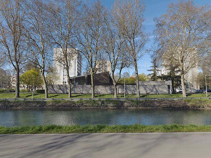 église paroissiale Sainte-Elisabeth-de-la-Trinité (canal de Bourgogne)