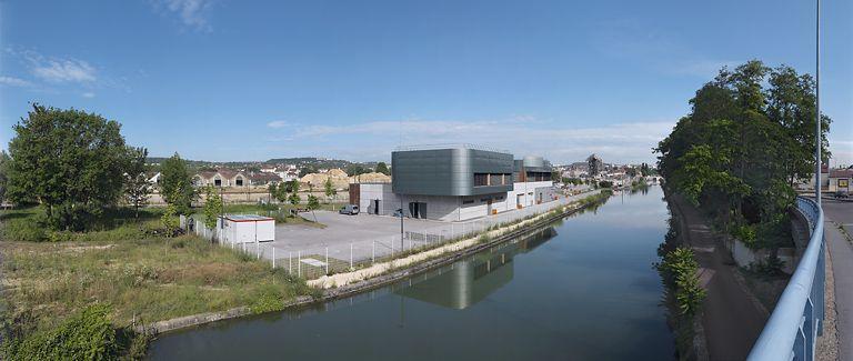 poste d'aiguillage informatisé de la SNCF Thierry Sarrat (canal de Bourgogne)
