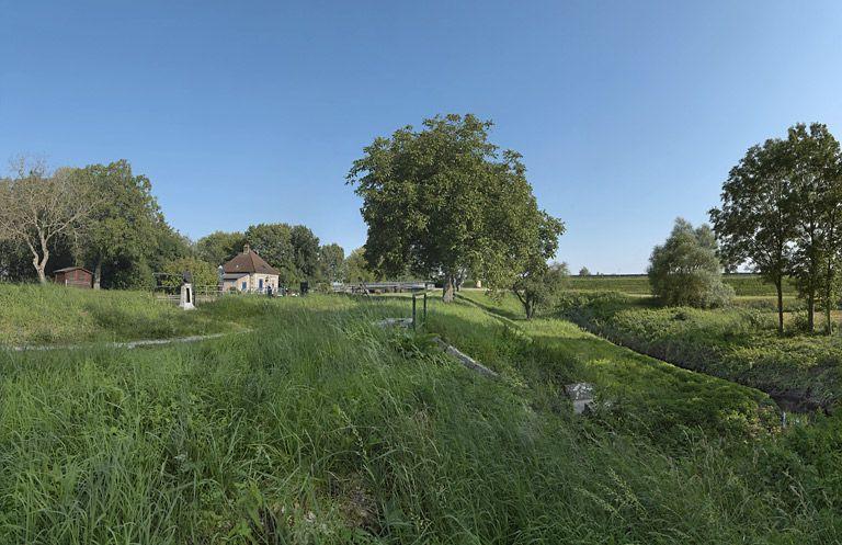 site de l'écluse 75 du versant Saône, dite de Viranne (canal de Bourgogne)
