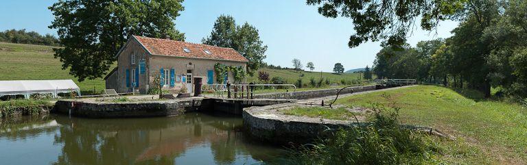site de l'écluse 05 du versant Saône dite de la Chevrotte (canal de Bourgogne)