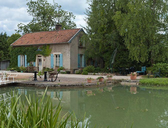 site de l'écluse 36 du versant Saône, dite de Sainte-Marie (canal de Bourgogne)