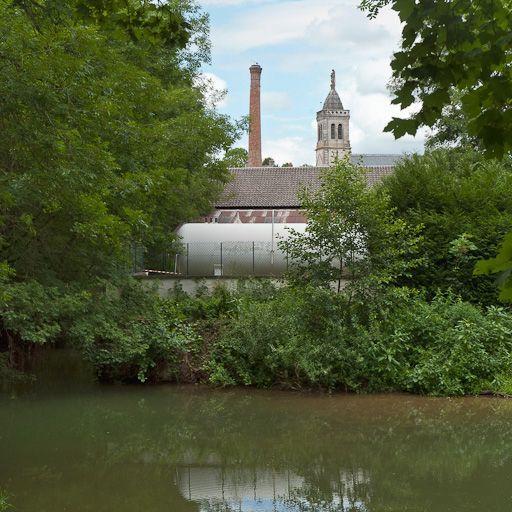 ancien moulin, usine (activités liées au canal de Bourgogne)