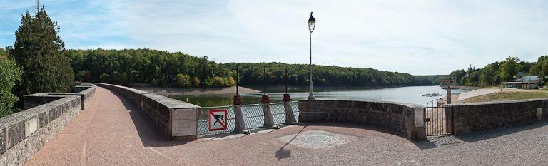 réservoir de Pont (canal de Bourgogne)