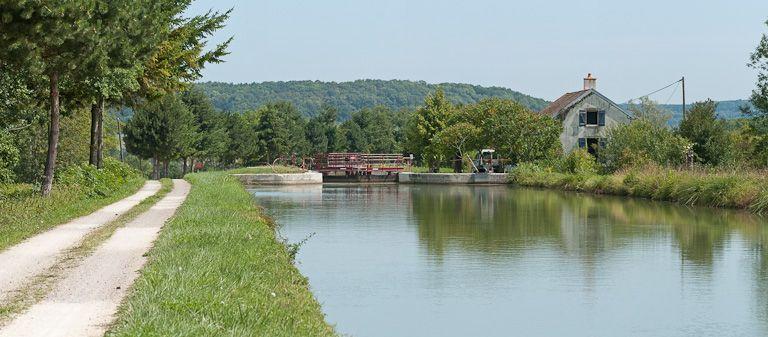 site de l'écluse 19 du versant Yonne, dite de Marigny 2ème (canal de Bourgogne)