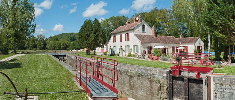 site de l'écluse 26 du versant Yonne, dite de Marigny 9ème (canal de Bourgogne)