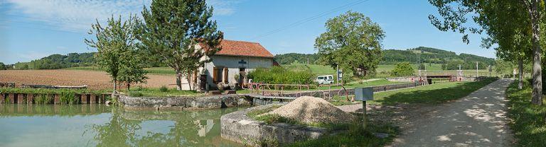 site de l'écluse 35 du versant Yonne, dite de Chassey 5ème (canal de Bourgogne)