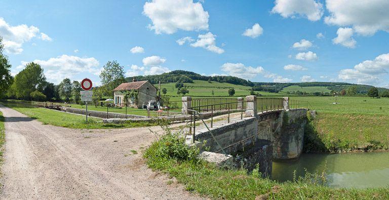 Site de l'écluse 52 du versant Yonne, dite de Mussy 1ère (canal de Bourgogne)