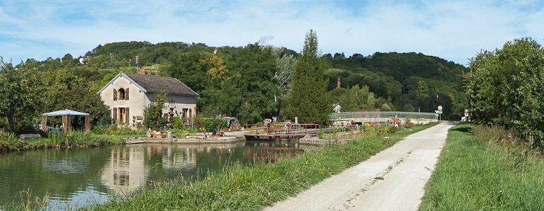 Site de l'écluse 57 du versant Yonne, dite des Granges (canal de Bourgogne)