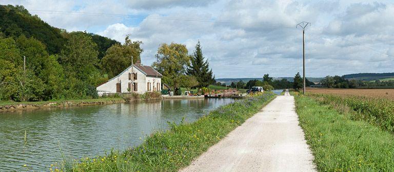 site de l'écluse 58 du versant Yonne, dite de Grignon (canal de Bourgogne)