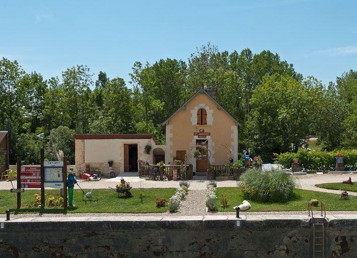 site de l'écluse 87 du versant Yonne, dite d'Argentenay (canal de Bourgogne)