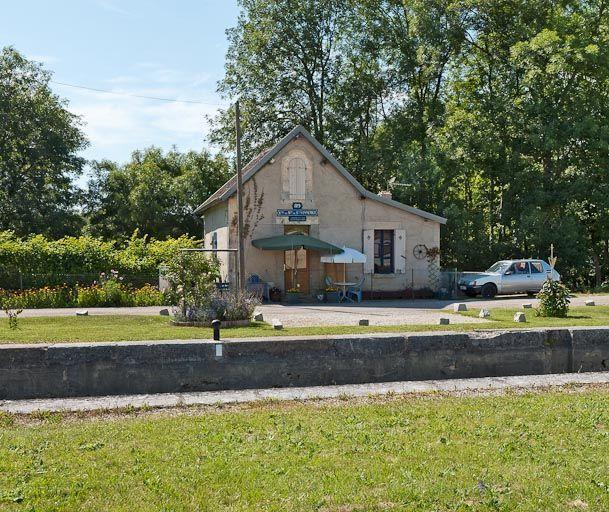 Site de l'écluse 89 du versant Yonne, dite du Moulin de Saint-Vinnemer (canal de Bourgogne)