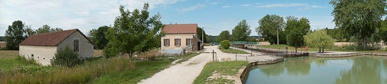 Site de l'écluse 94 du versant Yonne, dite d'Arcot (canal de Bourgogne)