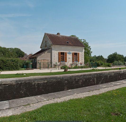 Site de l'écluse 108 du versant Yonne, dite de Saint-Florentin (canal de Bourgogne)