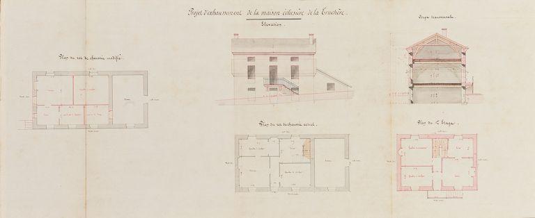 site de l'écluse de La Truchère (la Seille canalisée)