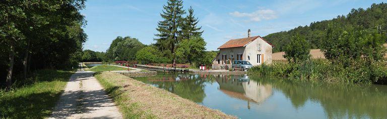 site de l'écluse 68 du versant Yonne, dite de Buffon 1ère (canal de Bourgogne)