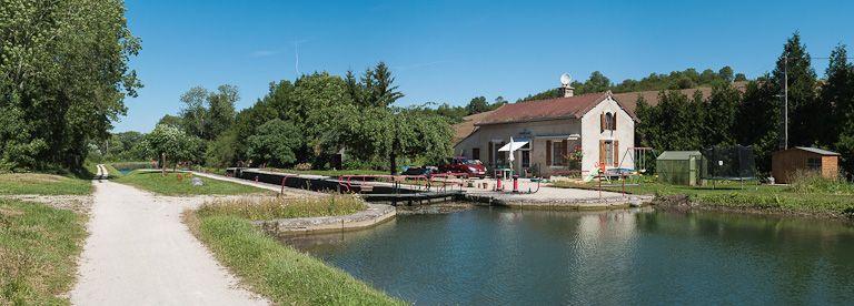 site de l'écluse 69 du versant Yonne, dite de Buffon 2ème (canal de Bourgogne)