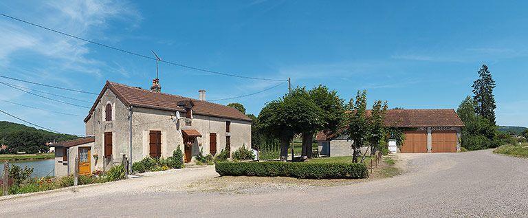 maison de garde du port de Vandenesse (canal de Bourgogne) ; remise (canal de Bourgogne)