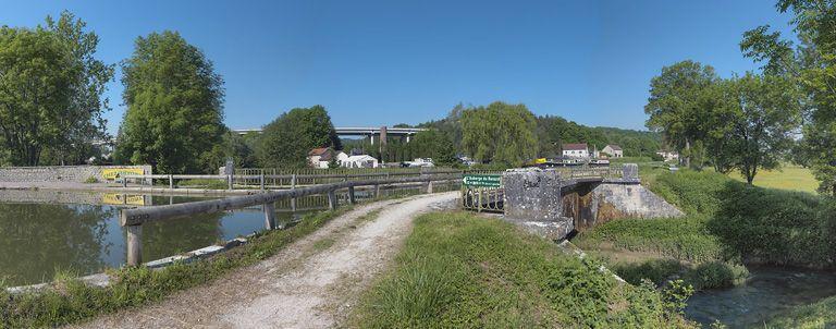 pont canal de Pont-d'Ouche (canal de Bourgogne)
