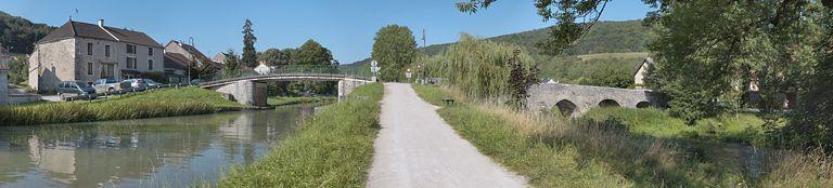 pont routier isolé de Gissey-sur-Ouche (canal de Bourgogne) ; pont (canal de Bourgogne)