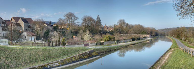 église du Prieuré Saint-Marcel (canal de Bourgogne) ; demeure dite Les Charmilles (canal de Bourgogne) ; demeure dite Les Tilleuls ; maison de repos (canal de Bourgogne) ; synthèse sur les paysages du canal de Bourgogne (canal de Bourgogne)