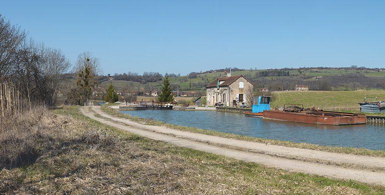 site de l'écluse 14 du versant Yonne, dite de Braux 1ère (canal de Bourgogne)