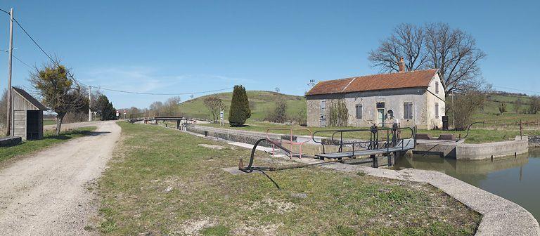 site de l'écluse 15 du versant Yonne, dite de Braux 2ème (canal de Bourgogne)