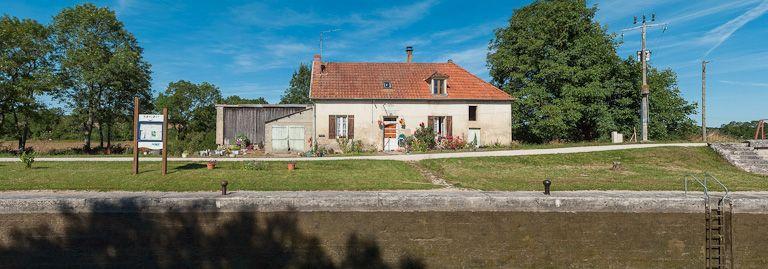 Site de l'écluse 75 du versant Yonne, dite de Lamerille ou de Nuits (canal de Bourgogne)