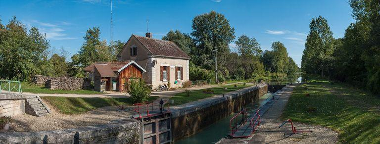 Site de l'écluse 105 du versant Yonne, dite d'Egrevin (canal de Bourgogne)