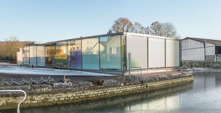lieu d'exposition, centre d'interprétation du canal de Bourgogne, dit Cap Canal (canal de Bourgogne)