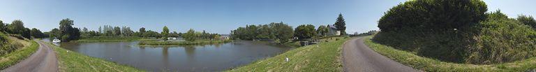 port de Panneçot ; gare d'eau (canal du Nivernais) ; site de l'écluse 25 du versant Loire, dite de Panneçot, écluse de garde (canal du Nivernais)